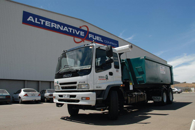 Resource Recovery Truck